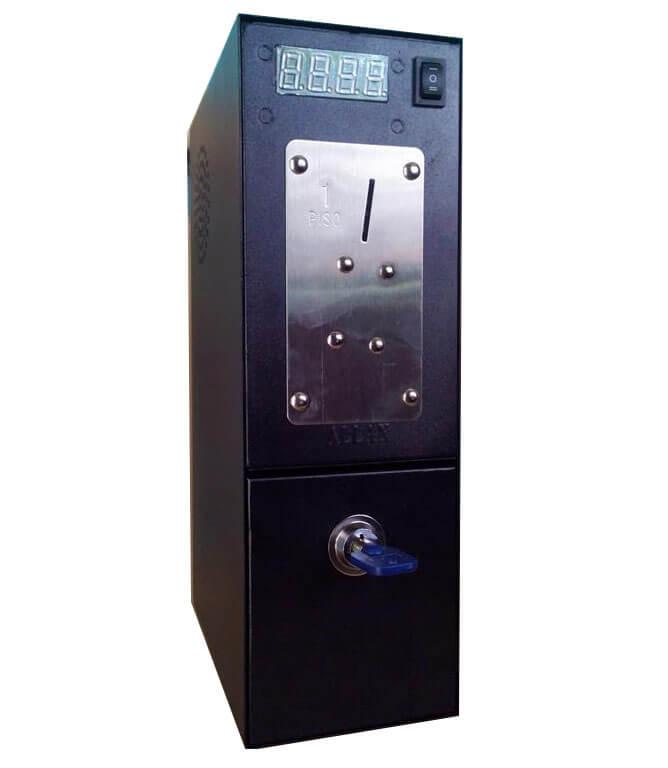 Pisonet coin slot box trademark poker 1-2 deck deluxe wooden card shuffler