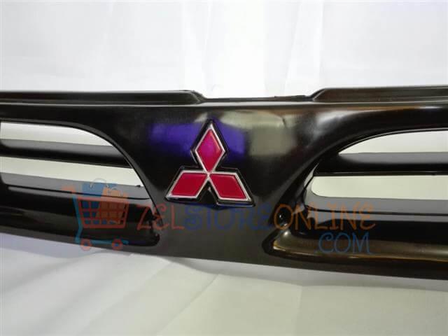 Bumper Grille Black Mitsubishi Lancer 93 96 Zelstore Online